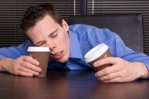 Think coffee is enough to make up for lack of sleep?