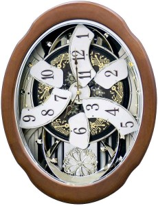 A beautiful rhythm clock makes for a great focal point, especially if it has just an interesting a story attached to it!