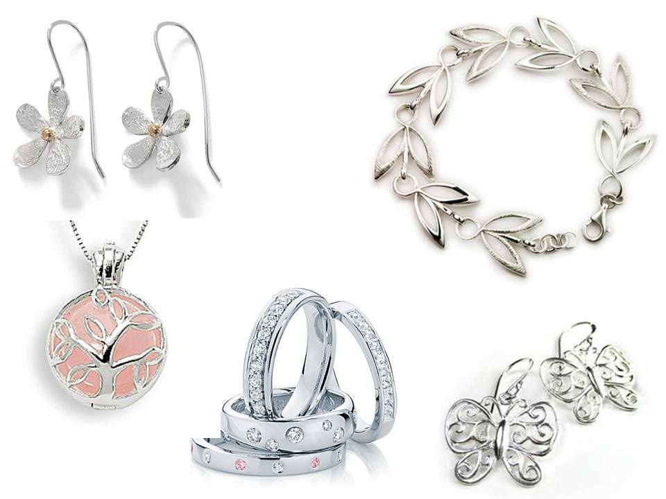 Beautiful, elegant and inspiring; the designs available in silver jewellery today will delight any jewellery collector!