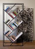 A sleek space saver, this bookrack packs a lot of style