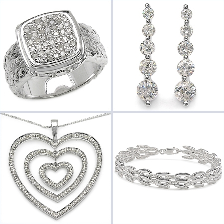 The versatility of silver jewellery makes it perfect for every occassion