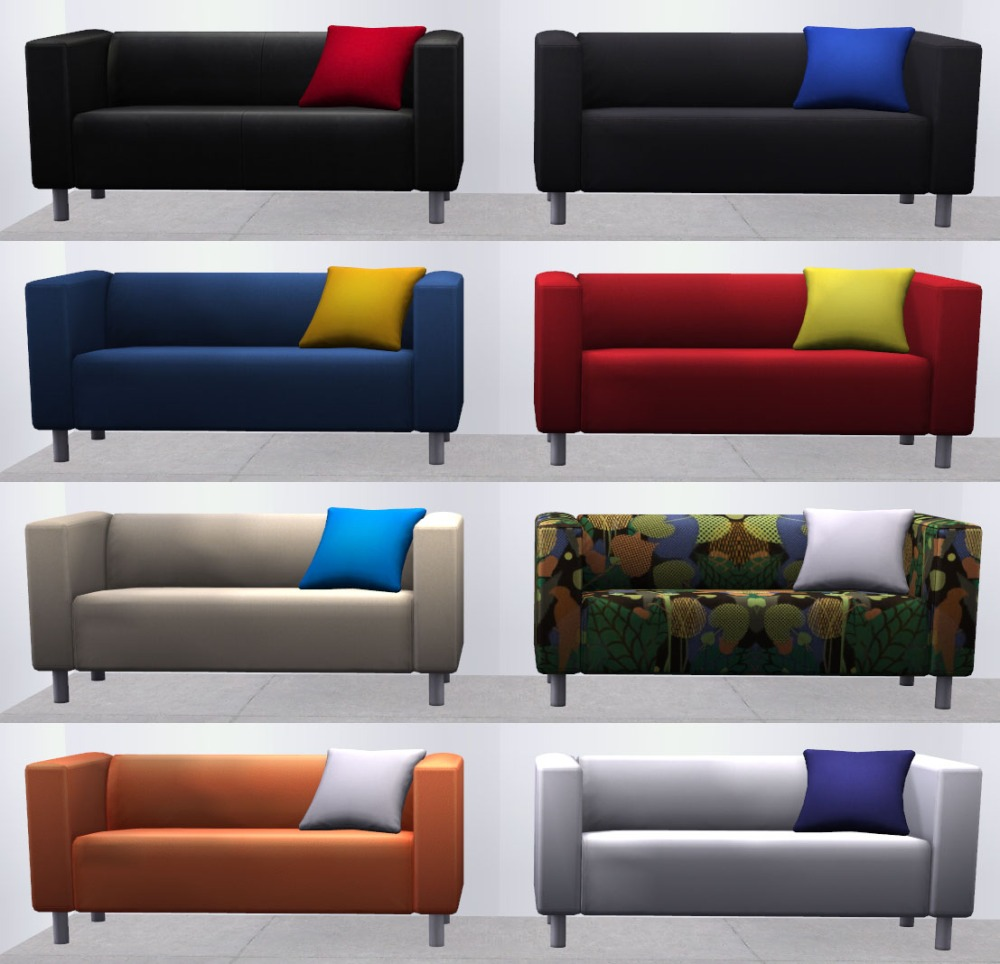 One Couch - 8 Different Looks!