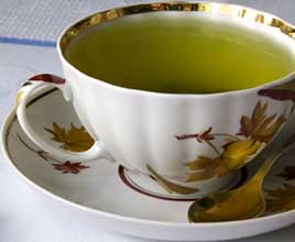 Green Tea is perfect for liver detox, while also helps to shed some belly fat at the same time