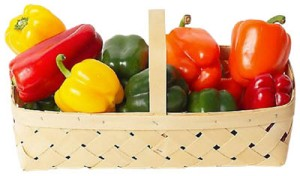 liver-diet-red-yellow-green-peppers