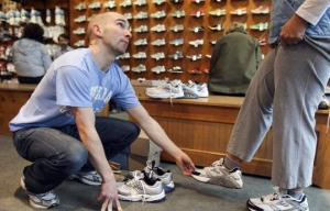 Proper fit is key to a pair of good running shoes