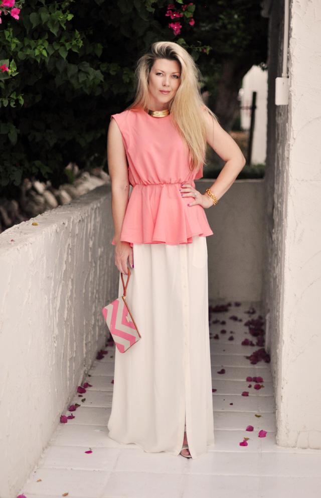 peplum top with maxi skirt www pixshark images