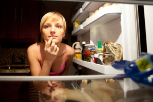 Wanting to raid the fridge in the middle of the night
