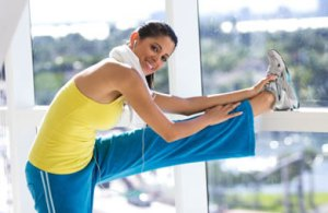 Start with a basic stretching routine. Warm Up is crucial for Injury Prevention