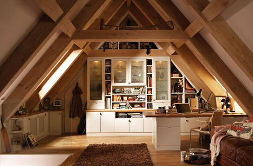 attic-room-ideas-design & More Than Just An Attic! u2013 Little Things That Make A Big Difference