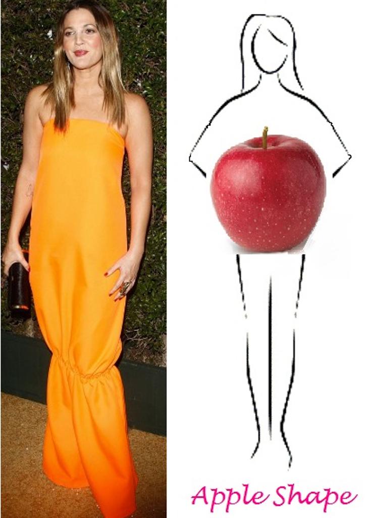 Apple Shape Figure - Look Fabulous