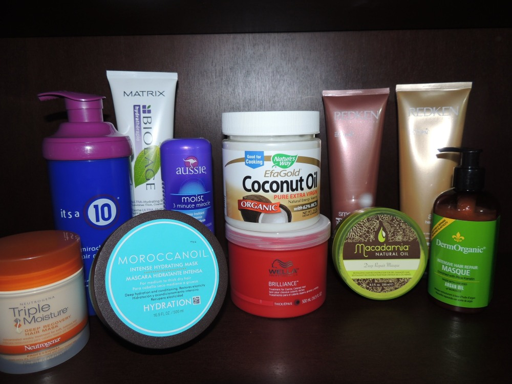 3 deep conditioning products