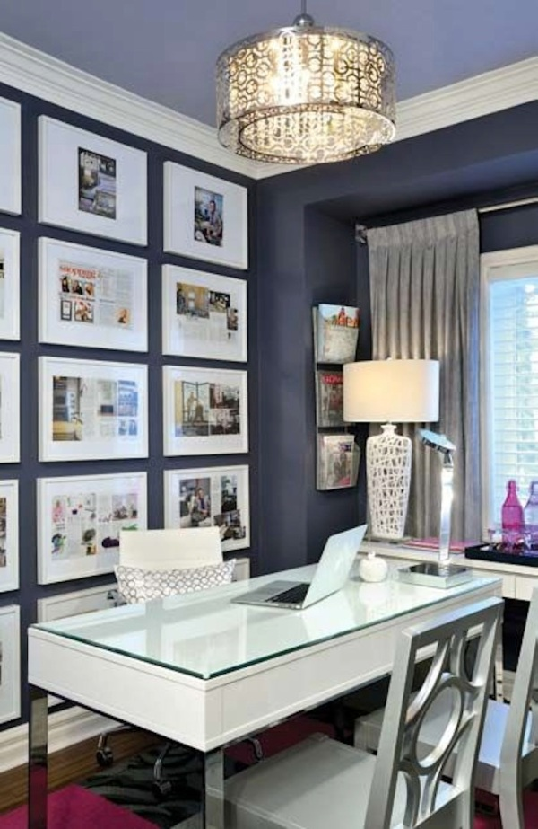 4 essential components of a chic home office little for Chic office ideas