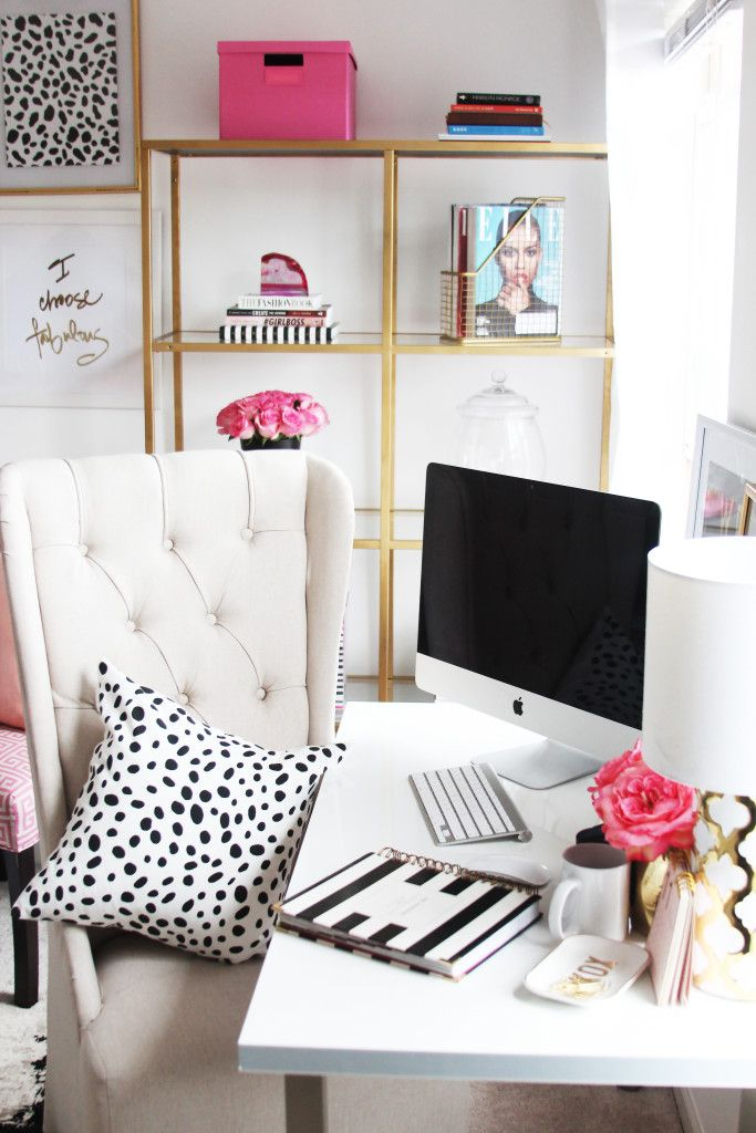 4 Essential Components Of A Chic Home Office U2013 Little Things That Make A  Big Difference