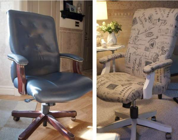 office chair makeover.25 PM